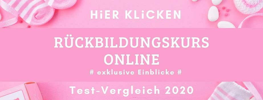 Rückbildungskurs Online Banner
